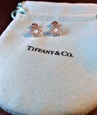 $250 Tiffany & Co Paloma Picasso Venezia Goldoni Triplo Sterling Silver Earrings