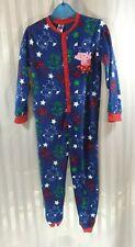 Peppa Pig George Pig Fleece All In One Nightwear Sleep Cosy Age 4-5