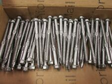 """(50) of  3-1/2"""" x 1/4"""" SDS  Simpson #316 Stainless Structural Screws. Heavy-Duty"""