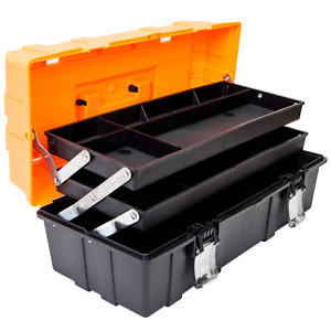 ATRJH-3430T 17-Inch 3-Layer multi-function Toolbox with Tray and Dividers