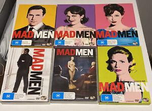 Mad Men Season One To Six 1-6. Region 4