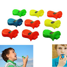 Kids Adorable Duckbill Whistle 18 Assorted Neon Colored Party Favor Whistles