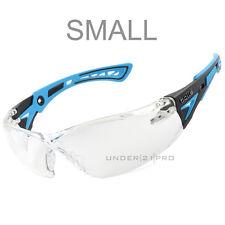 Bollé Safety Rush+ Small Lunettes de protection petite taille femme enfant bleu