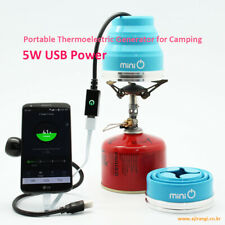 Portable Thermoelectric Generator for Camping (minio generator)