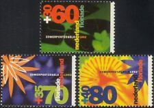 Netherlands 1992 Health & Welfare Funds/Lilies/Flowers/Plants/Nature 3v set s850