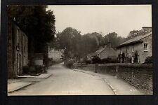 Humshaugh - Village Street Scene - real photographic postcard