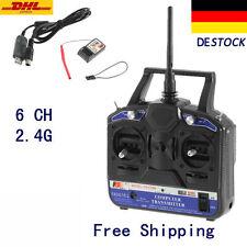 FS-T6B 6 CH  Funksteuerung RC Sender Empfänger System DE U