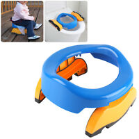 Baby Toddler Kids Child Travel Foldable Portable Toilet Seat Potty Training Seat