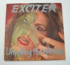 """EXCITER """"Unveilling the wiked"""" (Vinyle 33t / LP) 1986"""