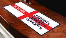 Personalised Bar Runner St Georges World Cup Towel Pub Mat Beer Cocktail Party
