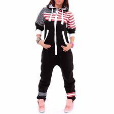 (2. WAHL!) Overall  Sportanzug Jumpsuit Größe M USA Flag Design Damen + NEU +