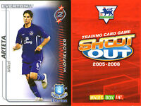SHOOT OUT FOOTBALL CARD 2005 - 2006 EVERTON MIKEL ARTETA