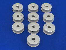10 ALUMINUM BOBBINS WORKS ON JUKI, ADLER, PFAFF 545,1245 INDUSTRIAL MACHINES