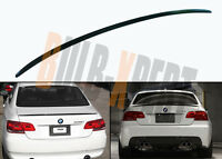 FOR 2007-2013 E92 COUPE M STYLE BLK CARBON FIBER FLUSH TRUNK LID SPOILER WING