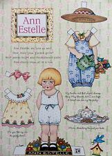 MARY ENGELBREIT Mag. Paper Doll, Ann Estelle, Spring Issue, Uncut