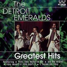 THE DETROIT EMERALDS Greatest Hits NEW & SEALED 70s SOUL CD (WESTBOUND) NORTHERN