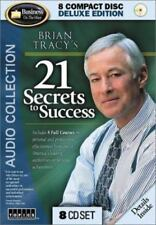 Brian Tracy's 21 Secrets to Success (2002, CD) Deluxe Edition 8 CD's