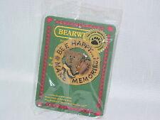 Boyds Bears Bearwear Bee Happy Make Memories In Original Package