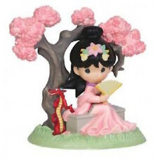 Disney Precious Moments 143019 Mulan Cherry Blossom Figurine New & Boxed