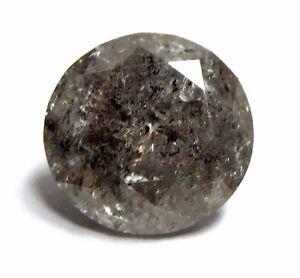 2.10 Karat Natürlich Rund Brillantschliff Poliert Diamond