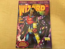 6 Magazines Wizard The Guide to Comics # 8 15 18 20 22 26 Editorials JKT10