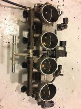 09 10 11 12 Kawasaki Ninja Zx6r Throttle Bodies CARBS Injectors Fuel Rail Servo