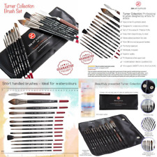 Professional Artist Brushes for Watercolour, Gouache & Fluid Acrylics - Squirrel