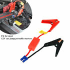Car Jump Starter Connector Booster Cable Battery Alligator Clamp Emergency Lead