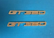 Ford Mustang GT 350 Emblems