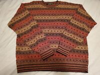 Protege Collection Sweater Vintage Coogi-Style Mens Size XL