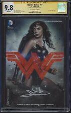 Wonder Woman #50 photo cover variant__CGC 9.8 SS__Signed by Gal Gadot