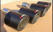 2 X TERMINALE SCARICO DOPPIO AKRAPOVIC UNIVERSALI MISURA IN 63MM OUT 89MM- DHL