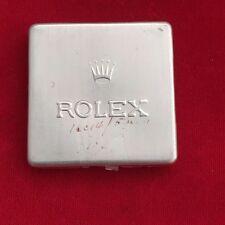 100% ORIGINAL VINTAGE USED ROLEX ALUMINIUM SERVICE CONTAINER BOX