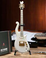 Axe Heaven Prince White Cloud Mini Guitar Replica Collectible