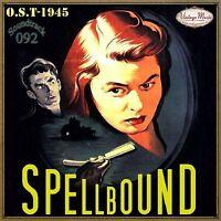 SPELLBOUND Soundtrack CD #92/100 - Banda Sonora O.S.T Original 1945 Miklós Rózsa