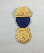 RARE & Original Delegate Badge for 1968 RNC for President Richard Nixon