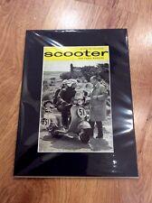 VESPA Vintage Original 1964 SPORTIQUE 150 Advert PIAGGIO SCOOTER MODS Scotland