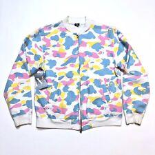 A Bathing Ape Bape Cotton Candy Camo Bomber Jacket Zip Size Small S Circa 2005