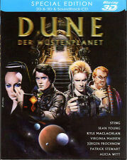 Dune , limited Lenticular Slipcase , 2D and 3D Blu-Ray Edition , new and sealed