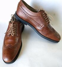 SWEAR LONDON LOGAN 3 Portugal Rubber Sole Wingtip Brown Leather Oxford Mens 12M