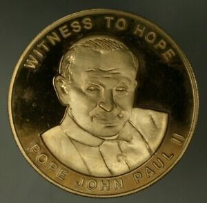 Uganda 1000 Shillings 2003 Pope John Paul II  - Mintage: 500  PROOF   A1893