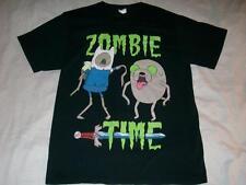 Adventure Zombie Time Jake Finn Sword Black T-shirt Men's Medium used