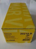 VIMAR EIKON 20210.B PRESA UNIVERSALE BIANCO 2P+T 16A  confezione n.20 pezzi