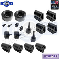 68-70 Charger Snap In Rubber Bumper Kit 18 Pieces SBK2323 Metro USA MADE New