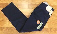 Dockers Mens Navy The Jean Cut Straight Fit Pants Size W30 L30 33x30  P215