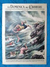 La Domenica del Corriere 25 settembre 1949 Castelnuovo di Porto- USA - Palombaro