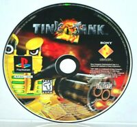 Tiny Tank (Sony PlayStation 1, 1998) PS1 PSOne PSX PS2 Video Game