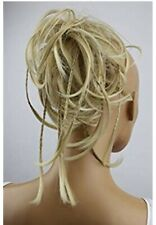 Sissy Hair Bun/Pony Tail w/braids Cute As One Or Two CD Fun! Blonde/Extensions