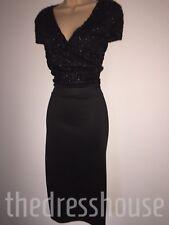 BNWT Nero Wiggle matita Wrap Front Dress Size 26 AX Paris CURVA