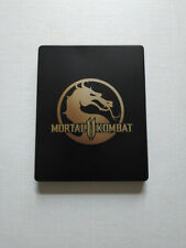 Mortal Kombat 11 PS4 Steel Book Case Only No Game